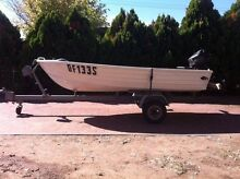 Tinny with 5hp motor and trailer Glenelg East Holdfast Bay Preview