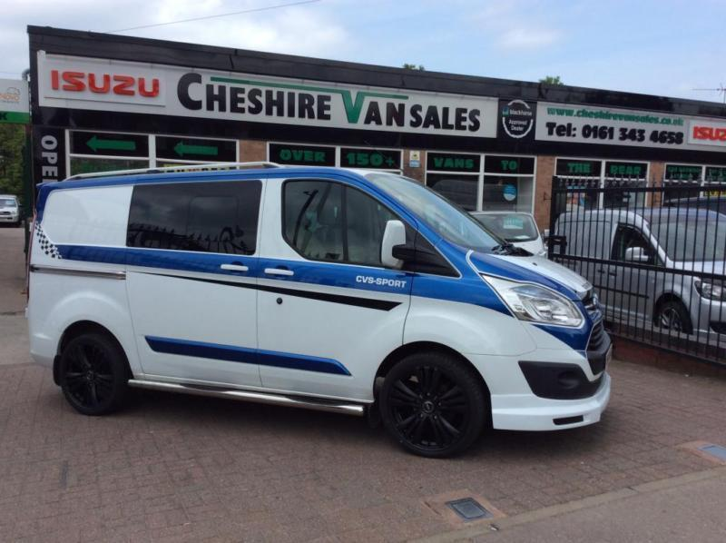2014 64 ford transit custom 2 2 290 limited kombi 155 bhp. Black Bedroom Furniture Sets. Home Design Ideas