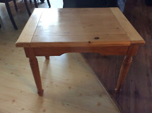 Table en bois massif / Wood living room table
