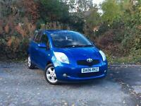 2006 Toyota Yaris 1.3 VVT-i T Spirit Blue 5-door hatchback