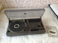Sharp record and tape player (the searcher)