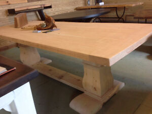 Royal Trestle table from our Showroom