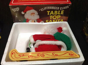 Vintage Santa's Best CLIFFHANGER SANTA CLAUS - NEW IN BOX Cambridge Kitchener Area image 6