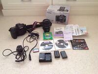Canon 40d SLR digital camera large bundle