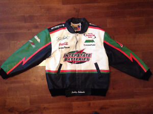 XL #18 Bobby Labonte Interstate Batteries Leather Jacket