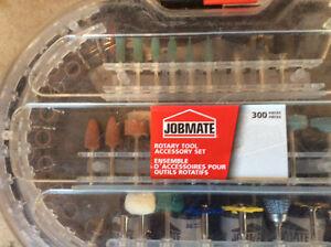 Ensemble pour outil rotatif (Dremel) JobMate 300 pièces neuf