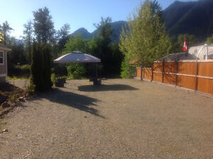 Riverfront RV Lot in Sicamous