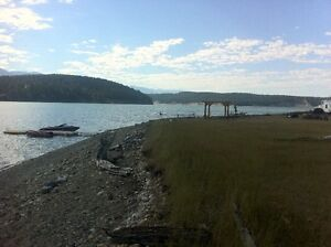 Lake front Serviced lot