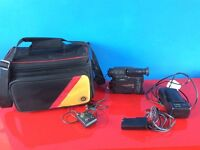 Vintage Canon UC10 8mm Video Camcorder 8 (spares or repairs)