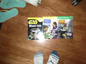 Star Wars road to reading level 1 books for sale