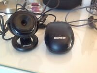 Microsoft Mouse and Camera