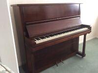 Free piano mahogany circa 1900