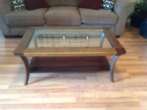 Pier 1 Coffee Table & Sofa Table