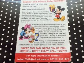 Mickey and Minnie Entertainment