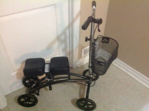 Medical Knee scooter to replace crutches for injured feet ankles