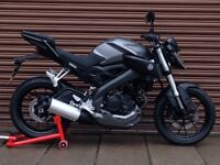 Yamaha MT 125 ABS 2015. Only 6742miles. Delivery Available *Credit & Debit Ca...