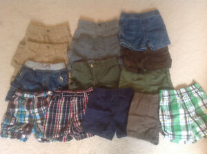 Summer shorts, size 12 month for boy