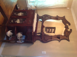 Furniture (dining room hutch)