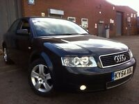 2005 AUTOMATIC AUDI A4 1.9 TDI PD REDEYE LOW MILEAGE 2 KEYS PARKING SENSORS