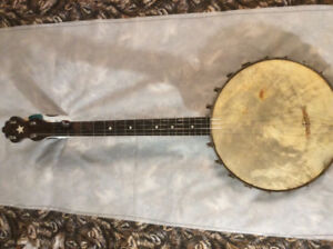 Lange Made Irish tenor banjo