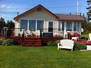 Beachfront  cottage in Cap Pelé for rent week of July 16-23