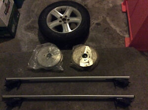 Suzuki rear drums, factory spare tire and roof rack