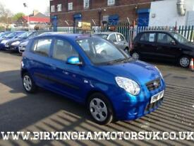 2009 (59) Kia Picanto 1.1 Strike Special Edition AUTOMATIC 5DR Hatchback BLUE