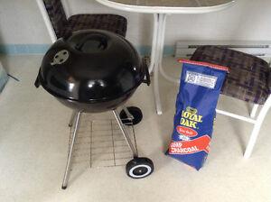 Charcoal BBQ used twice
