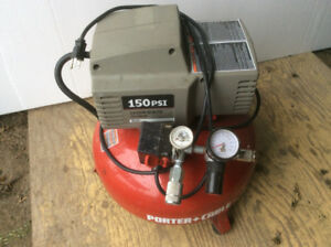 Porter-Cable pancake shop air compressor