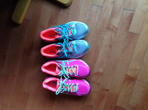 Close to new ASICS Gel Ladies Running Shoes 8.5