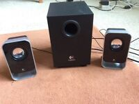 Logitech LS21 2.1 speakers