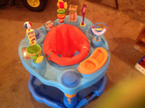 USED TWICE - EXERCISE SAUCER $35.00