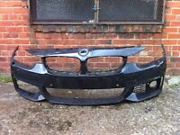 BMW 4 series m sport 2013 2014 2015 genuine front bumper for sale