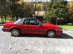 1985 Ford Mustang 5.0 GT Convertible 8000$ OBO