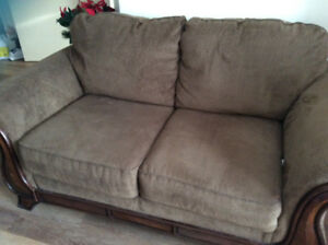 Matching love seat and chair for sale