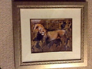 """PRETTY FRAMED PICTURE - 18"""" x 16"""""""