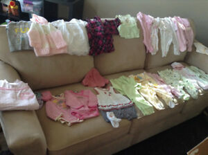 Baby girl clothes- 0-3 months