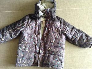 Size 5 kids winter jacket.