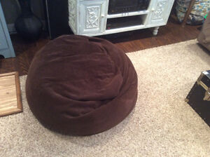 2 excellent condition bean bag chairs