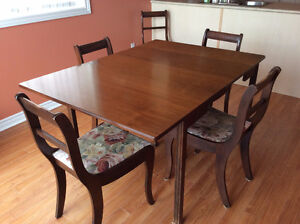 Dining Table and Chair Set Available