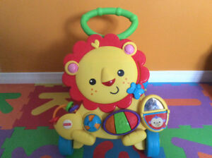 Fisher-Price - Lion trotteur musica