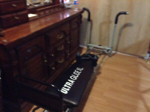 Exercise bike and ultra glide xl