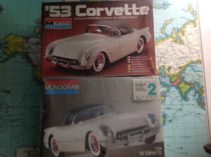 Pair of 1953 Corvettes