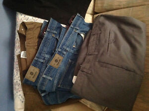 Men's size 48 jeans and shorts