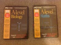 A-Level Maths and Biology PC CD-ROM