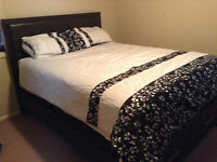 Queen Size Bedframe , Mattress and Box Spring - $850