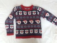 christmas jumper age 4-5