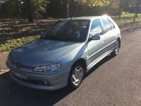 2000 Peugeot 306 1.4 Meridian-1 previous owner-October 2017 mot-great reliable runaround