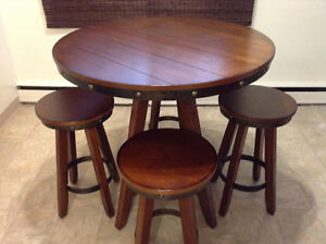 5-Piece Kitchen Counter Height Dining Set