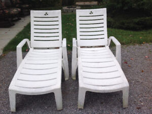 Lounge Chairs (2) For Sale